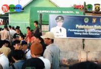 Bupati H. Heri Amalindo tolong menolong membantu Kebakaran Pali dengan Bangun 3 Rumah