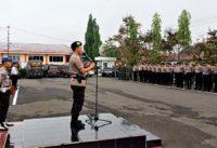 Polres Lahat Gelar Operasi Pengamanan Sidang Perselisihan Pemilu 2019