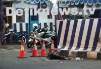 BOM Bunuh Diri Terjadi Di Kartasura Jawa Tengah, Pelaku Tergeletak Di TKP
