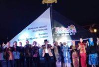 Teatrikal Perjalanan Dah Punta Hyang Awali Acara Pembukaan Festival Sriwijaya ke-28 di Palembang