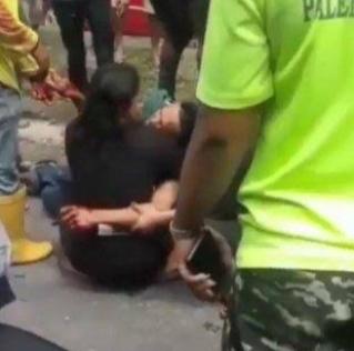 Merasa Terancam Oknum Terpaksa Tembak Pedagang Asongan Lampu Merah