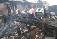 RATUSAN Rumah di Kertapati Palembang Habis di Amuk Si Jago Merah