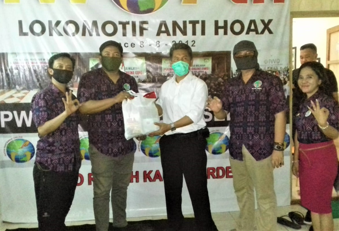 Polda Sumsel Ajak IWO Perangi Berita Hoax Terkait Covid-19