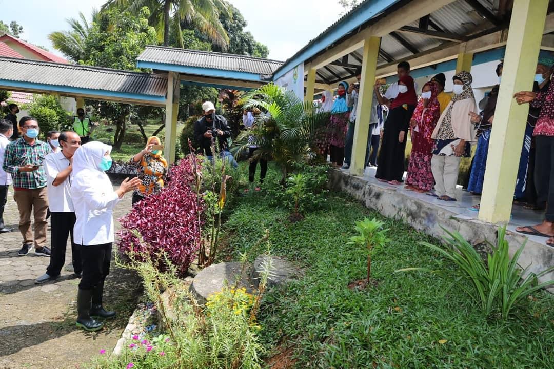 Pastikan ketersediaan pangan, Wakil Walikota Palembang kunjungi Panti Jompo