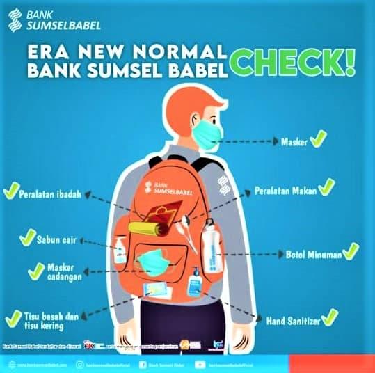 Agar Nasabah Nyaman Bank SumselBabel Tetap Lakukan Ini Saat New Normal