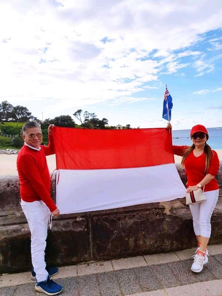 Cerita Annie Hermes Rayakan HUT RI Ke 75 Di Australia