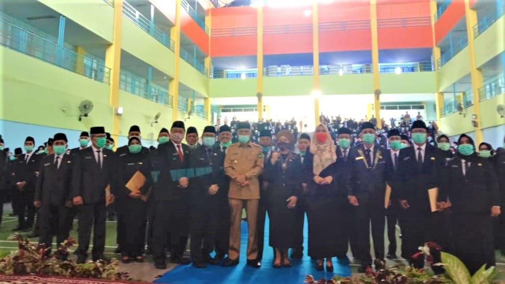 Wagub Lantik 471 Kepala Sekolah di Sumsel