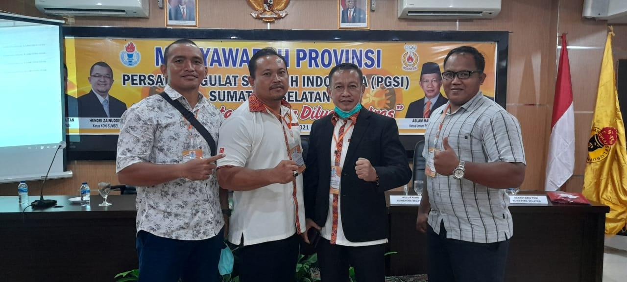PGSI Sumsel Kembali di Pimpin Aslam Mahrom