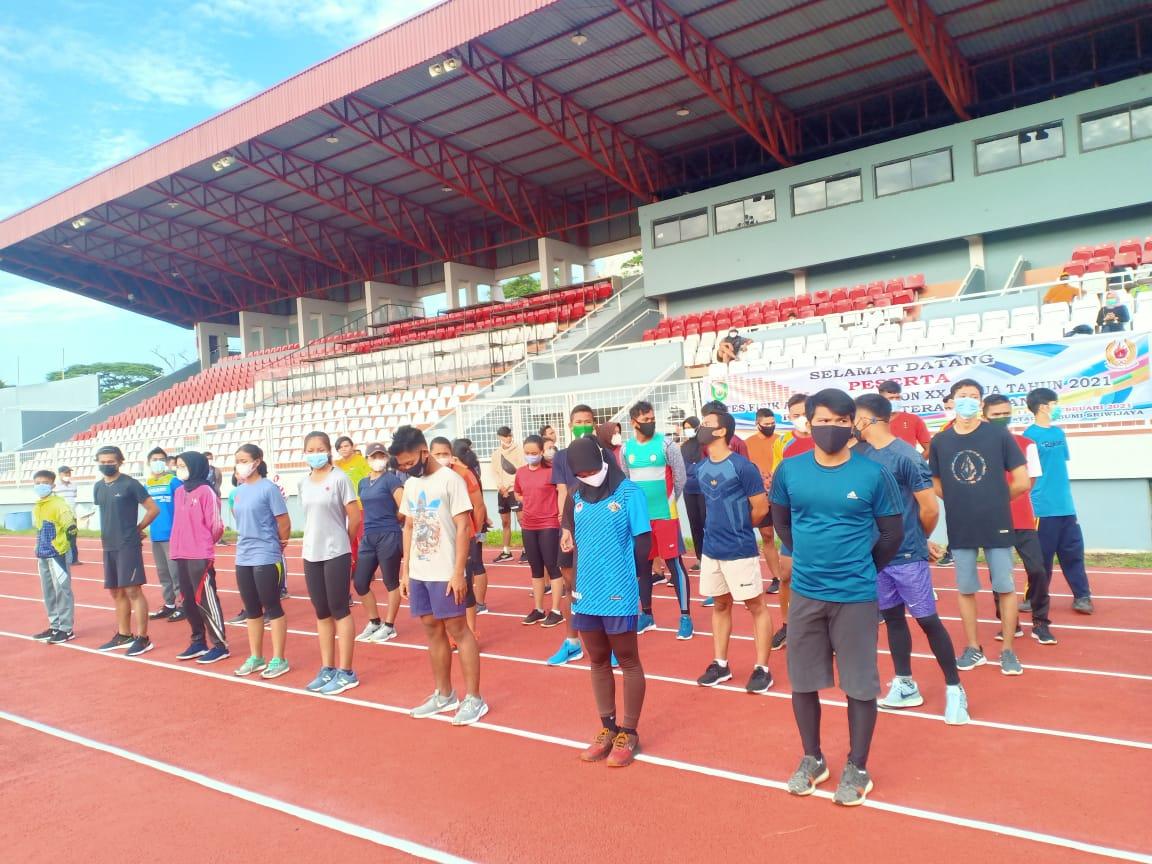 Menuju PON XX Papua, 131 Atlet Sumsel Jalani Tes Fisik