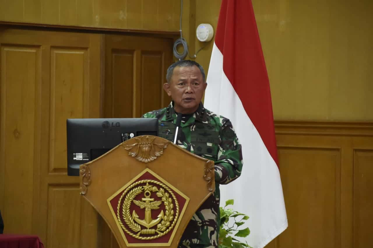 Rakornispen TNI Tahun2021 Resmi Dibuka Kasum TNI