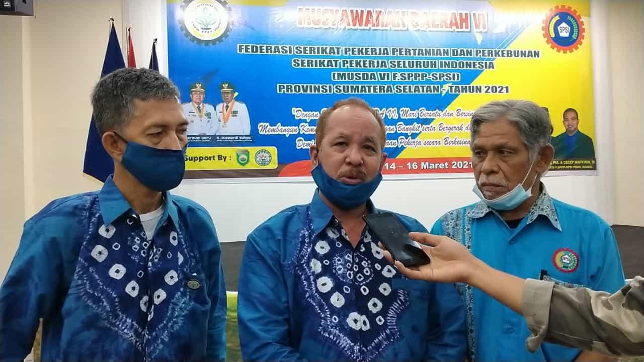 Ketua DPP F.SPPP-SPSI Apresiasi Pelaksanaan Musda ke VI di Sumsel