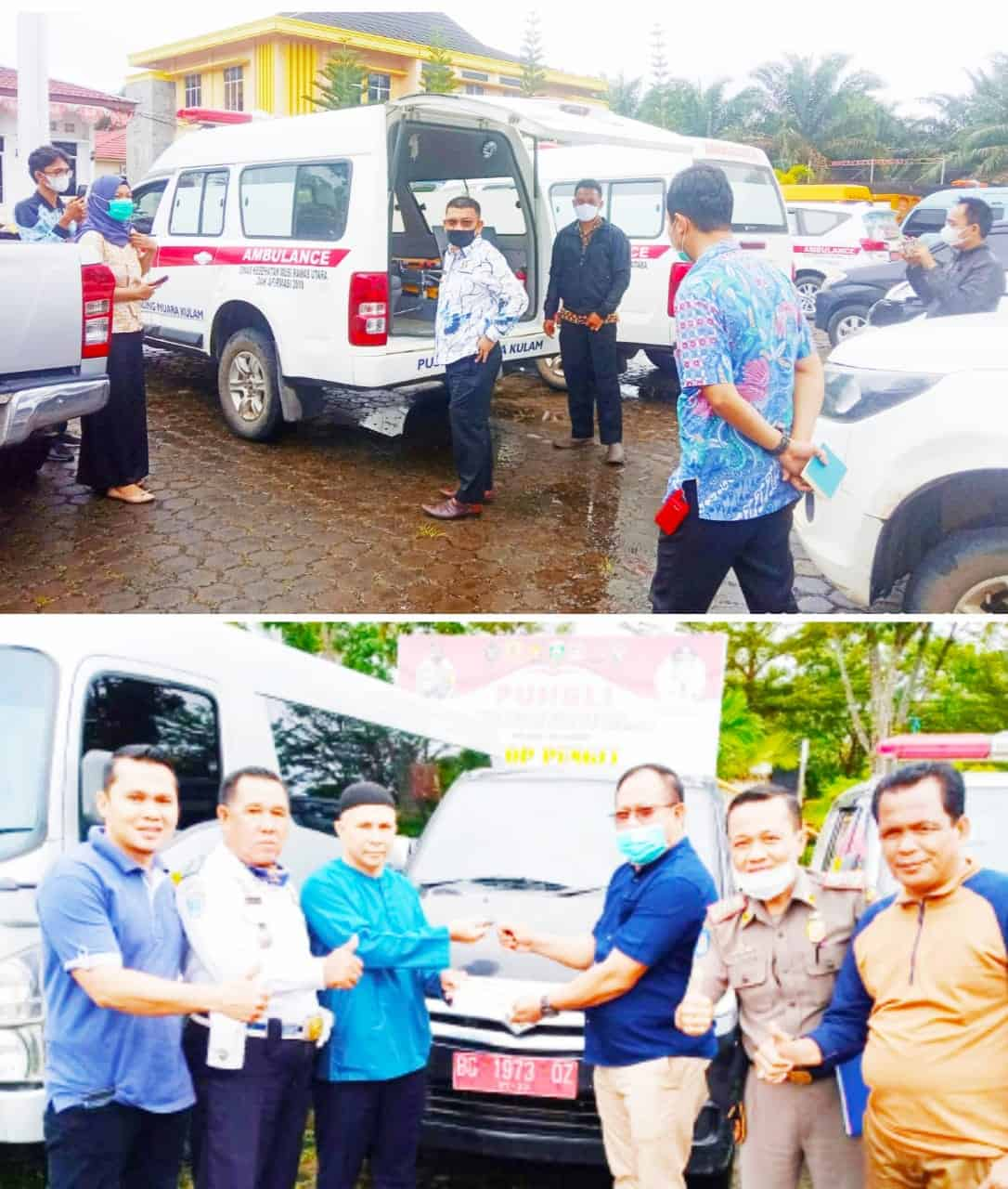 Bupati Muratara H. Devi Suhartoni Cek Fisik Mobil Dinas,Kecewa…